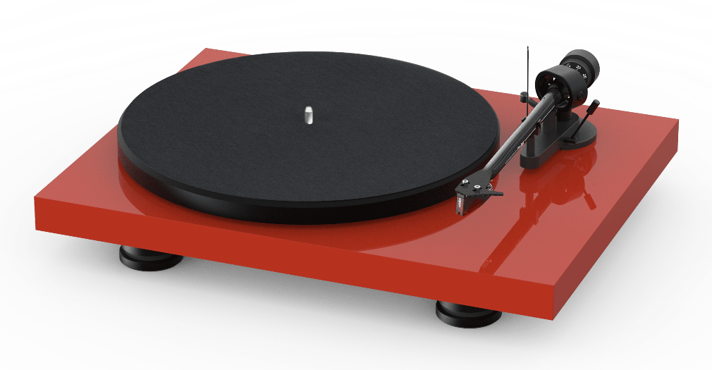 Pro-Ject Debut Carbon Evo red front