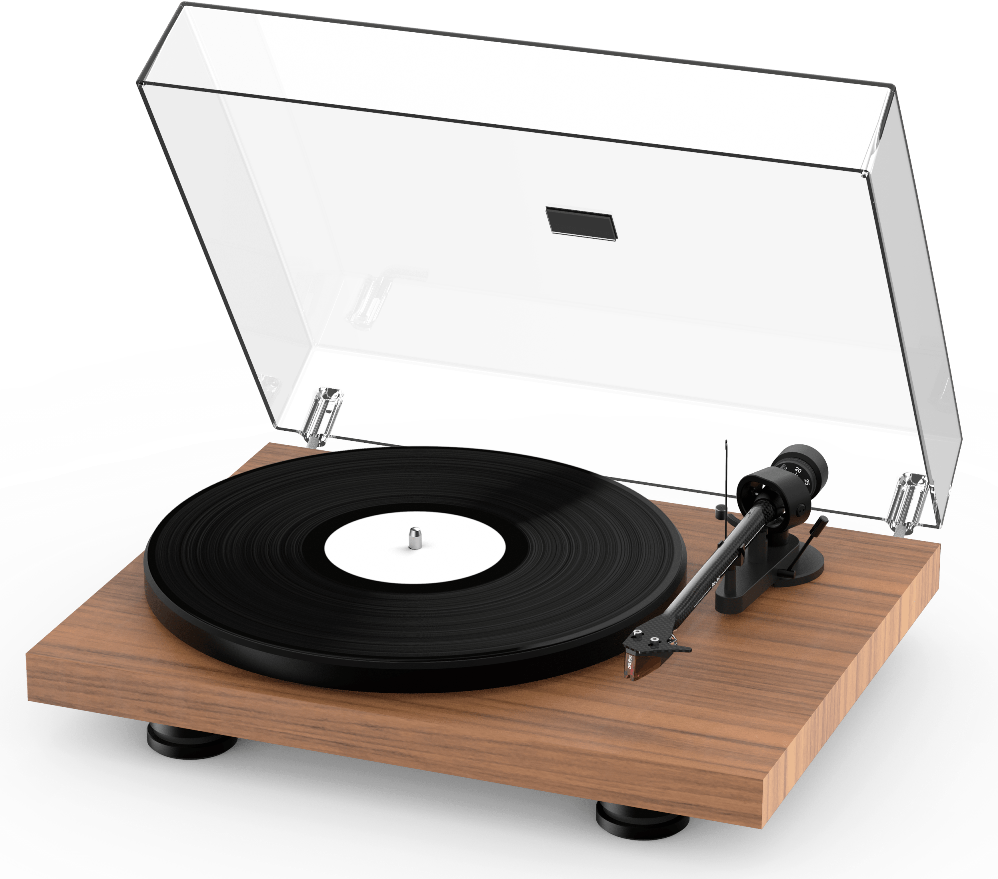 Pro-Ject Debut Carbon Evo walnut front