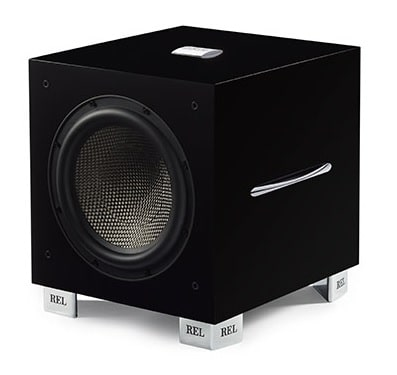 Rel Carbon Special Limited Edition subwoofer